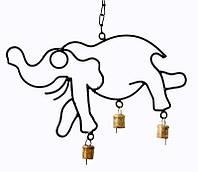 9240101 Колокольчик под старину 'Слон проволока' IK-19