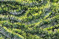 Мишура темно-зеленая (салатный кончик) , длина 1.5м, диаметр 100мм Харьков., фото 1