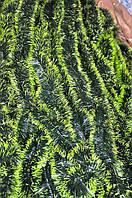 Мишура темно-зеленая (салатный кончик) , длина 1.5м, диаметр 70мм Харьков., фото 1
