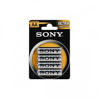 Батарейки R06 Sony Ult. бл4 (240/48) Артикул: 01788