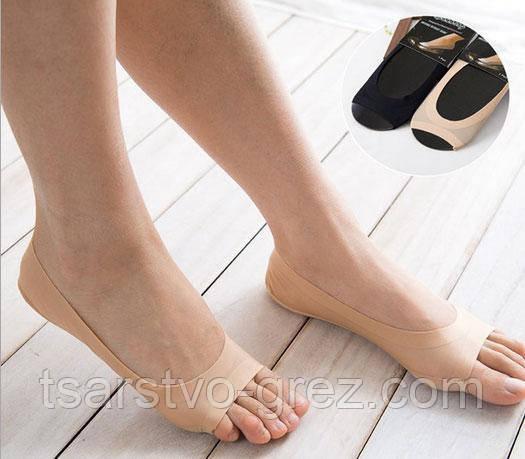 Мягкие капроновые подследники с защитой от натирания новыми туфлями