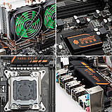 Комплект 2 Xeon e5 2680 2689, HUANANZHI X79 Board Dual Пам'ять 16/32/64 Гб 2 Кулер Lga 2011 Huanan, фото 3