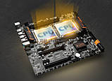 Комплект 2 Xeon e5 2680 2689, HUANANZHI X79 Board Dual Пам'ять 16/32/64 Гб 2 Кулер Lga 2011 Huanan, фото 7