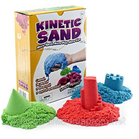 Цветной кинетический песок производства WABAFun Швеции