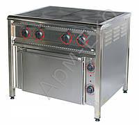 Плита электрическая 4-конфорочная с духовкой ПЕ-4Ш Ч Арм-Эко(Украина)