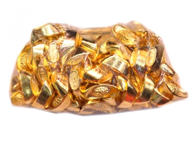 9270031 Чаша изобилия Россыпью металл золотой цвет