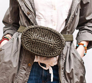 Наборы для вязания Поясной сумки Вояж