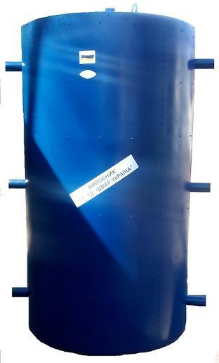 Бак акумулятор Ідмар 270 літрів для системи опалення з утепленням і сталевим корпусом. Буферні ємності.