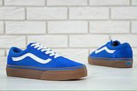 Кеды Vans Old Skool синие, фото 1