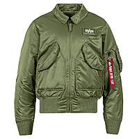 Оригинальный бомбер Alpha Industries CWU 45/P Flight Jacket MJC22000C1 (Sage Green)