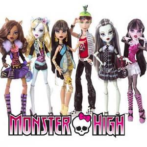 Базовые куклы Монстр Хай