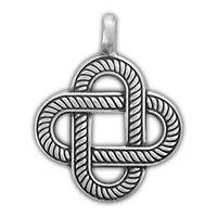 0220019 71522 Амулет защитный Viking 'Крест Бригитты' материал - олово
