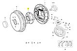 Ступиця задня чері Форза А13, a13-3301030, фото 5