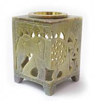 Аромалампа каменная квадратная арт.ALR-810003