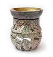 Аромалампа каменная круглая арт.60322
