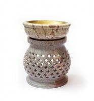 Аромалампа каменная круглая арт.ALR-30-15