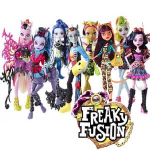 Злиття монстрів - Freaky Fusion