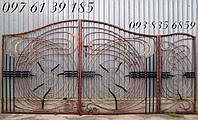 Ворота кованные 455