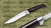 Нож нескладной 2547 EWP-2,4 mm  (Рукоять: палисандр Чехол: ткань)