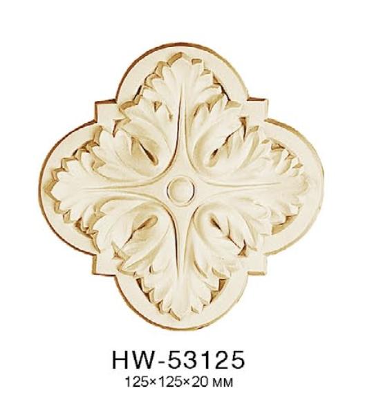 Орнамент Classic Home HW-53125 (125*125*20 mm) ліпний декор з поліуретану,