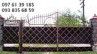 Ворота кованные 17210