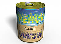 Консервированный Пляж Одессы (на английском) - Оригинальный Морской Сувенир