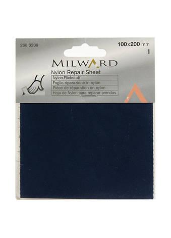 Нейлоновая заплатка Milward 10х20см Темно-синий, фото 2