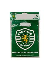 """Набор пакетов """"Спортинг"""" (6шт.) Codipostal 25х17см Зеленый, Белый"""