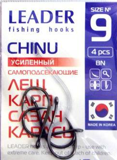 Крючок Leader Chinu BN Усиленный 4