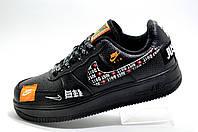 Мужские кроссовки в стиле Nike Air Force 1, 2020 Just Do It (Black)