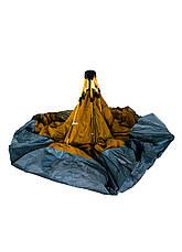 Палатка на 4 персоны Tent 230х210х140см Серый, Коричневый, Салатовый, фото 3