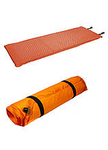 Туристический надувной матрас Crivit 188х66х5см Оранжевый