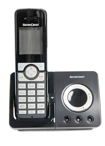 Радиотелефон SilverCrest SDT 1.9 B4 Silver Crest 12,5х20см Черный, Серый, фото 2