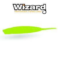 Силиконовая приманка Wizard Merabu Worm 4см Chartereuse 10шт /уп