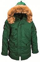 Зимова куртка аляска Alpha Industries Altitude Parka MJA43917C1 (Forest Green)