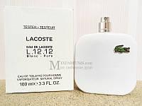 Оригинал Lacoste L.12.12 White (Blanc) edt 100 ml m TESTER Туалетная Мужская