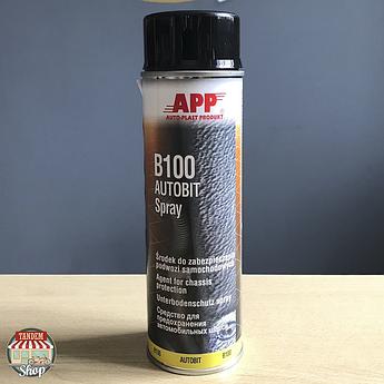 Средство для защиты шасси APP B100 Autobit, 500 мл Аэрозоль