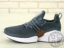 Мужские кроссовки Adidas Alphabounce Instinct Grey/White B76038, фото 2
