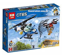 """Конструктор Lepin 02126 City """"Воздушная полиция: Погоня дронов"""" 215 деталей. Аналог LEGO City 60207, фото 1"""