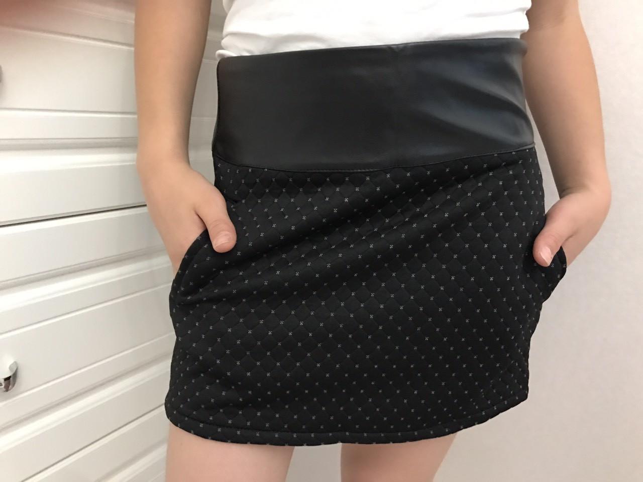 Подростковая юбка в школу для девочки р. 134-164