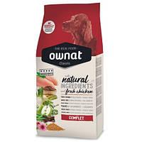 Сухий корм Ownat Complet Овнат для дорослих собак всіх порід з куркою 4 кг