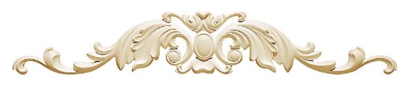 Орнамент Classic Home HW-52910 (915*153*25 mm)  лепной декор из полиуретана,