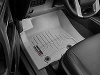 Коврики резиновые с бортиком, передние, серые. (WeatherTech) - 4Runner - Toyota - 2013