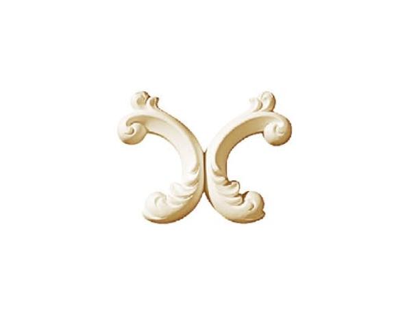 Орнамент Classic Home HW-52185 (185*144*23 mm)  лепной декор из полиуретана,