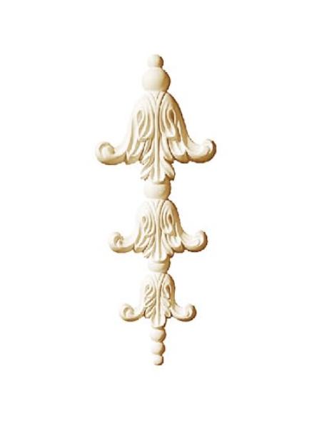 Орнамент Classic Home HW-52330 (131*331*23 mm)  лепной декор из полиуретана,