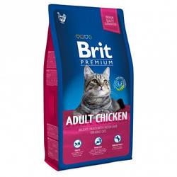 Корм Brit Premium Cat Adult Chicken Брит Преміум Кет Едалт для кішок з куркою 8 кг