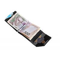 Зажим для денег Grande Pelle Soldi 120610 глянец черный, фото 1