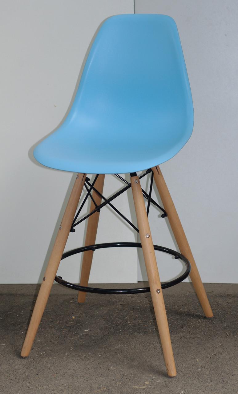 Барный стул Nik Eames, голубой