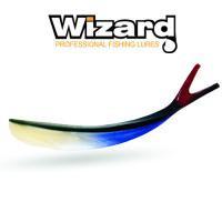 Силиконовая приманка Wizard V Tail 10 см Red Tail 4 шт