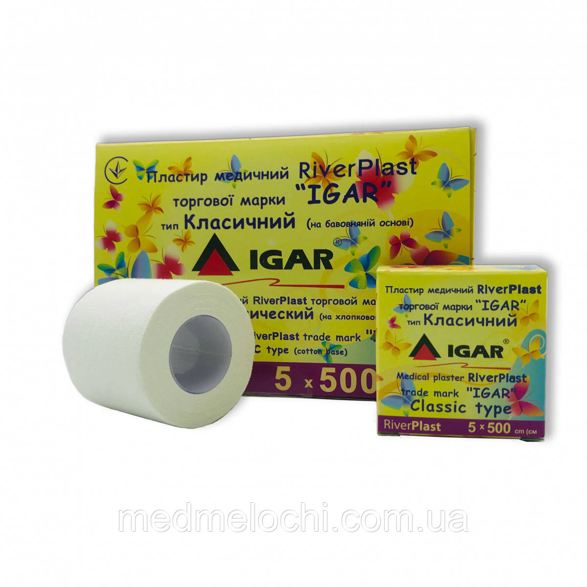 Пластир 5 х 500см класичний RiverPlast IGAR
